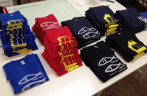Estampagem T-shirts