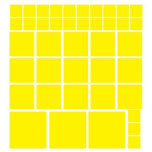 Quadrados Amarelos