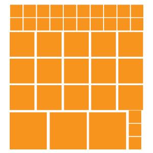 Quadrados Laranjas