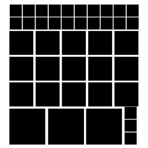 Quadrados Pretos