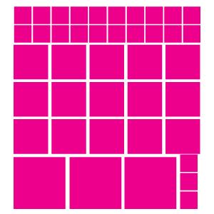 Quadrados Rosas