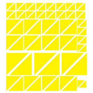 Triângulos Amarelos