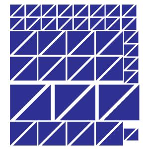 Triângulos Azuis