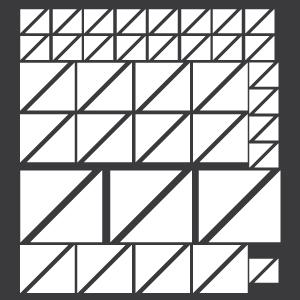 Triângulos Brancos
