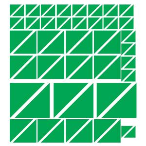 Triângulos Verdes